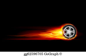 Burning rubber clipart graphic freeuse Burn Rubber Clip Art - Royalty Free - GoGraph graphic freeuse