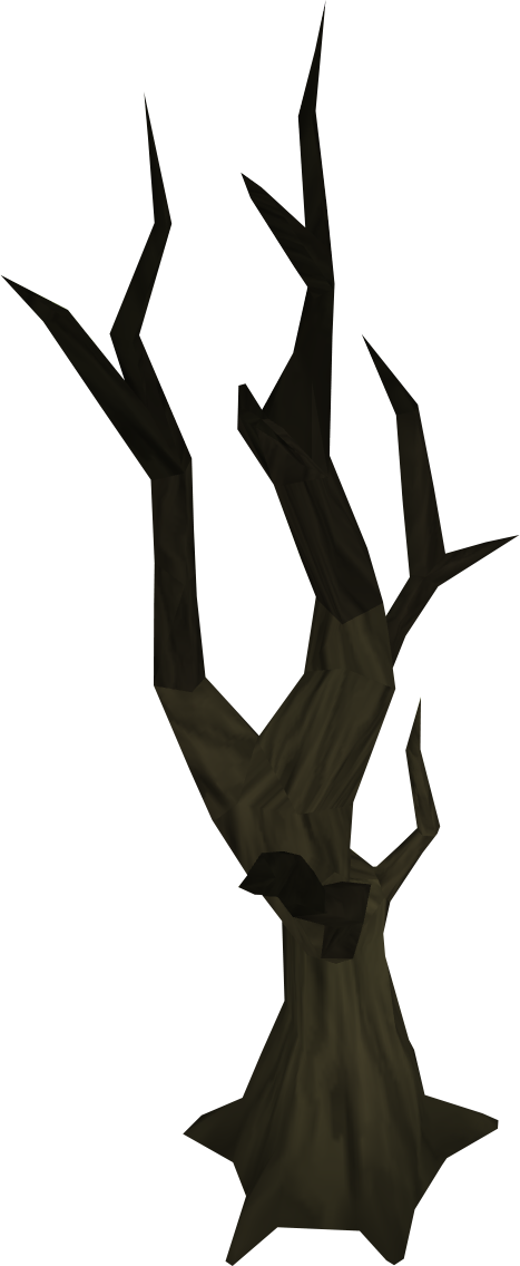 Dying tree clipart. Burnt runescape wiki fandom