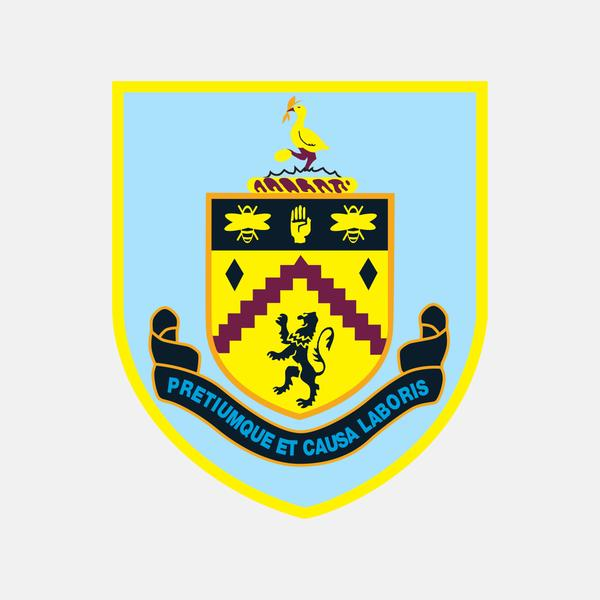Burnley fc logo clipart jpg royalty free download Burnley F.C - Premier League – The Football Crest Index jpg royalty free download
