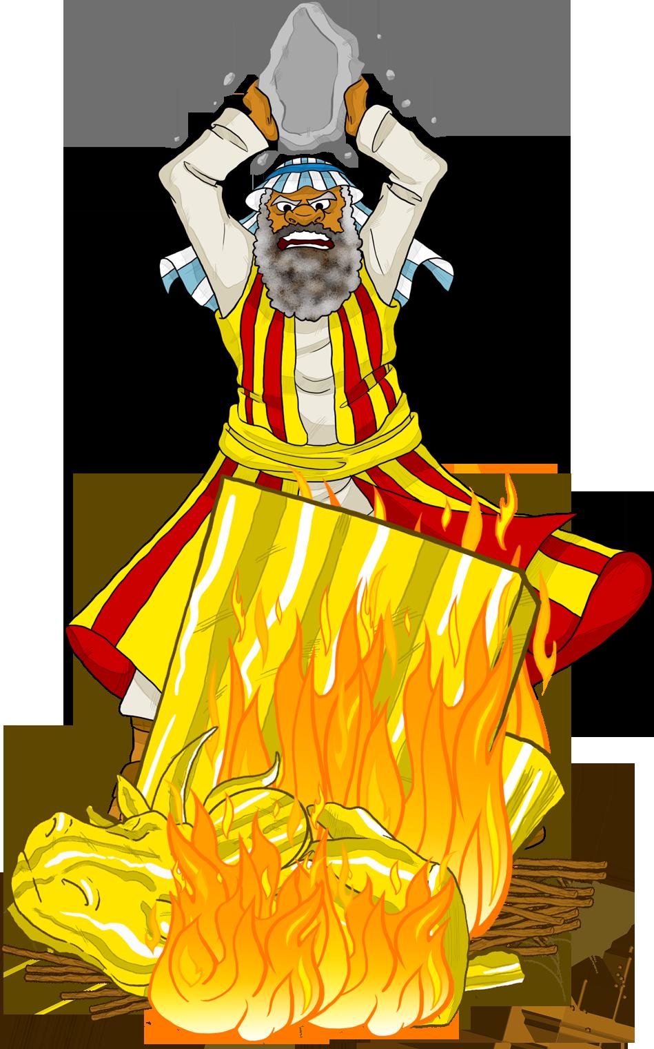 Burnt down house clipart banner Moses destroys the golden calf. | Children ministry | Pinterest ... banner