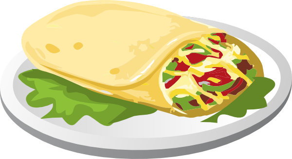 Burrito pictures clipart royalty free download Kind Breakfast Burrito Clip Art at Clker.com - vector clip art ... royalty free download