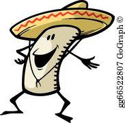 Clipart burrito png transparent stock Burrito Clip Art - Royalty Free - GoGraph png transparent stock