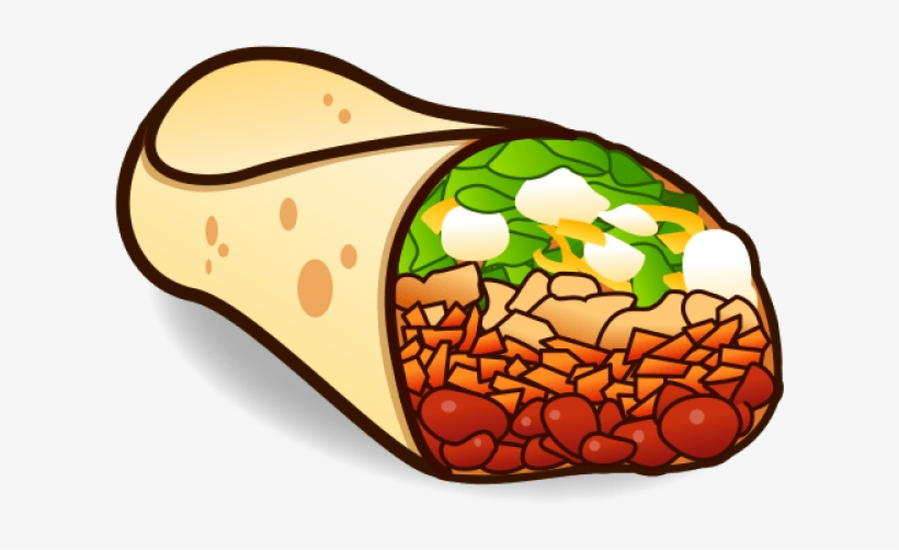 Clipart burrito png free library Chili Clipart Burrito Bowl - 640x480 PNG Download - PNGkit png free library