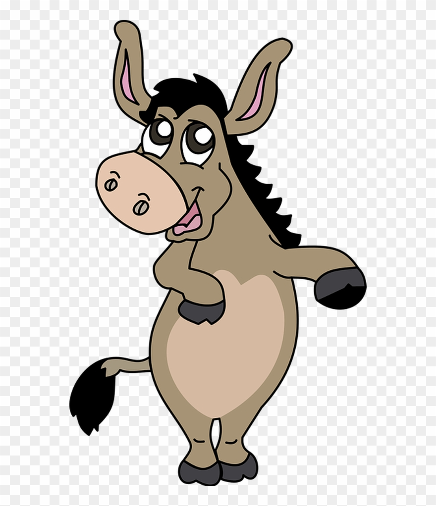 Burro clipart svg transparent library Donkey Free To Use Clip Art - Clipart Burro - Png Download (#258675 ... svg transparent library