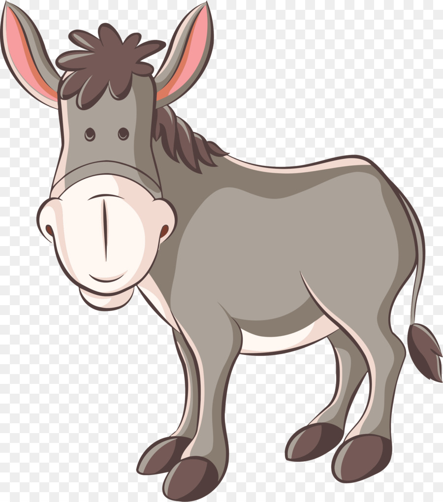Burro clipart vector royalty free download Horse Cartoon clipart - Horse, Nose, transparent clip art vector royalty free download