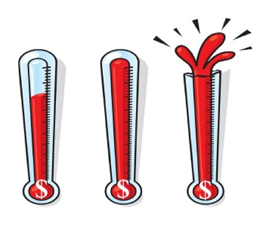 Bursting thermometer clipart vector royalty free library Thermometer bursting clipart 1 » Clipart Portal vector royalty free library