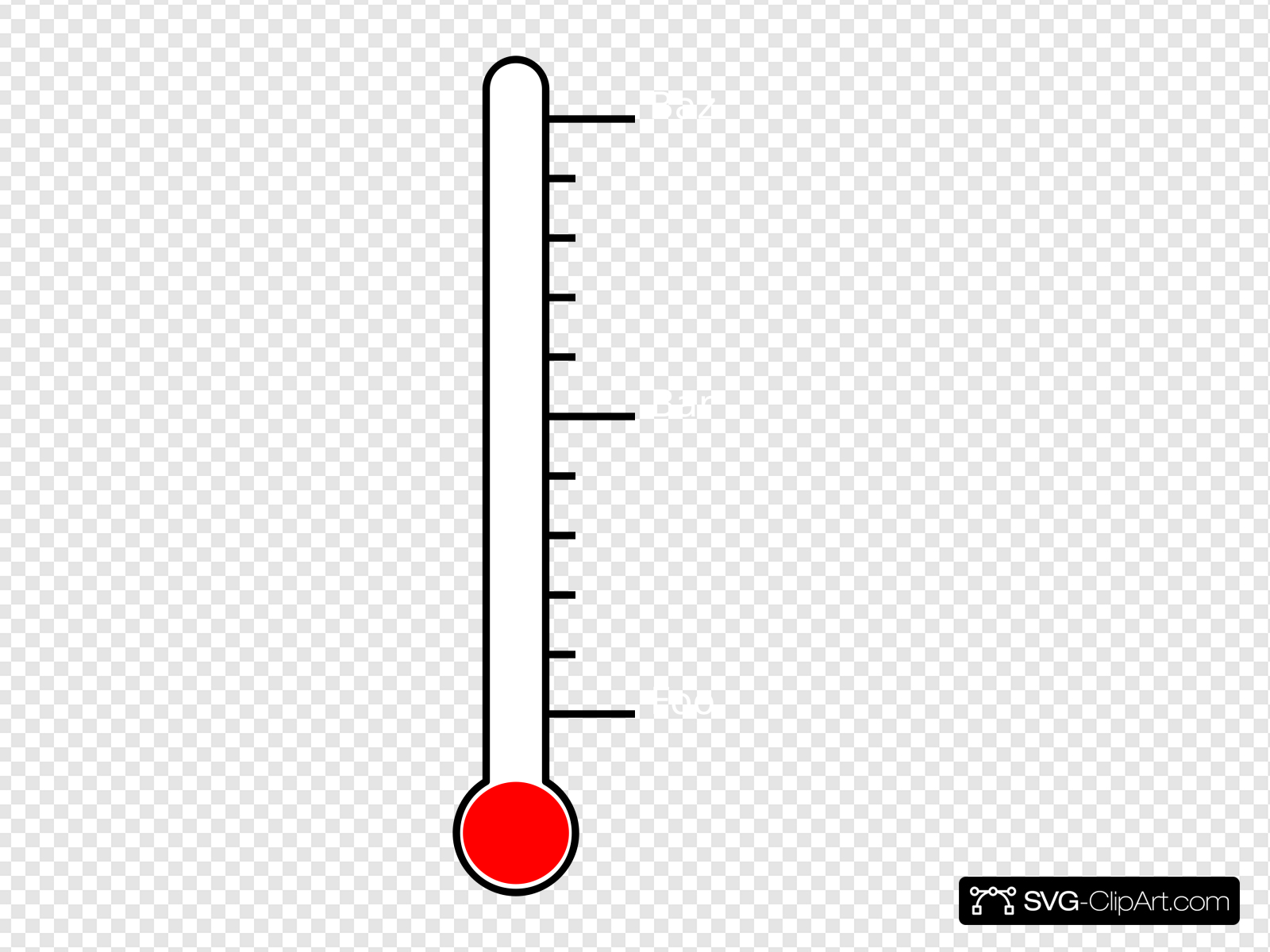 Bursting thermometer clipart image royalty free library Blank Thermometer Clip art, Icon and SVG - SVG Clipart image royalty free library