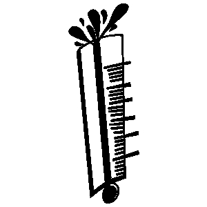 Bursting thermometer clipart svg black and white library Thermometer Black And White | Free download best Thermometer Black ... svg black and white library