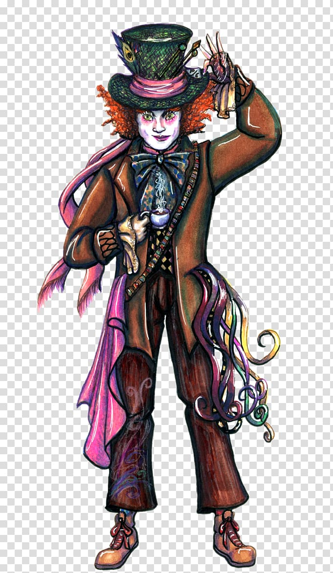 Burton mad hatter clipart png royalty free The Mad Hatter Johnny Depp Alice in Wonderland Character, mad hatter ... png royalty free