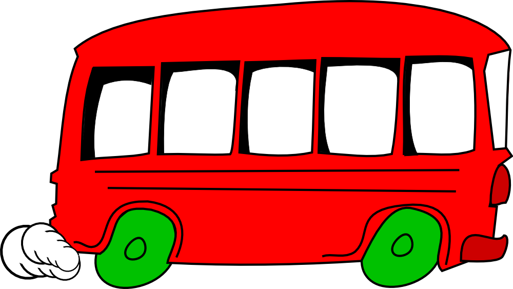 Bus and car clipart jpg transparent library OnlineLabels Clip Art - Bus jpg transparent library