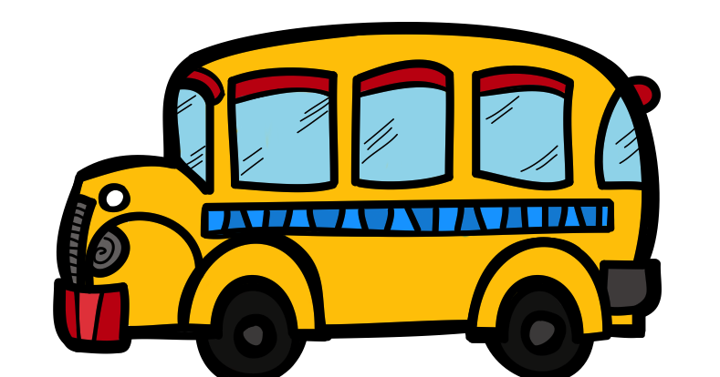 Bus and car clipart freeuse stock The Creative Chalkboard: Free School Bus Clipart and KIDS Bundle ... freeuse stock
