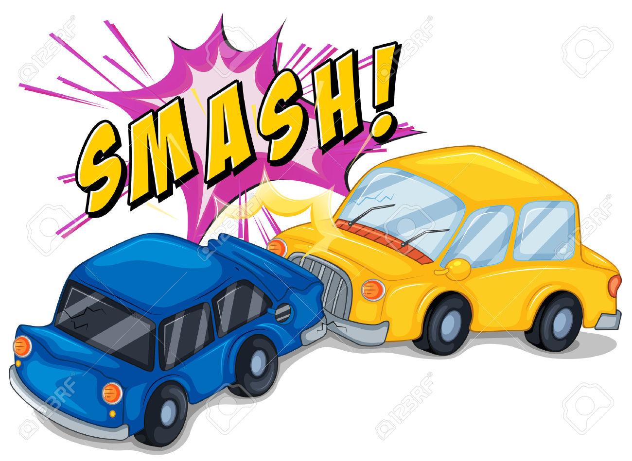 Bus car crash clipart graphic transparent stock Accident Cartoon Clipart | Free download best Accident Cartoon ... graphic transparent stock