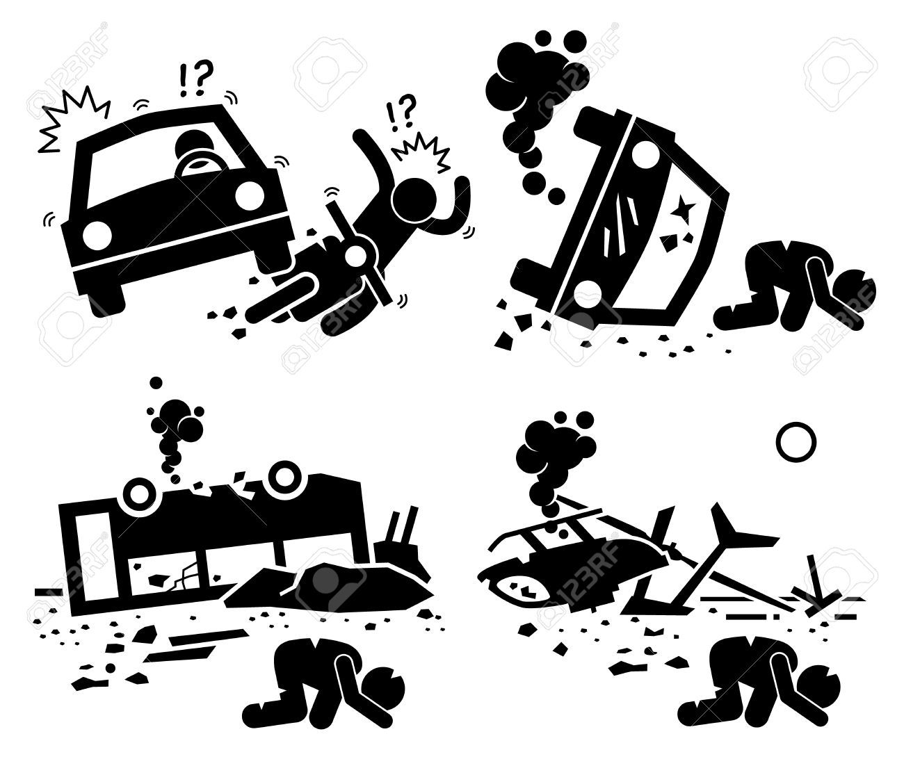 Bus car crash clipart graphic royalty free stock Stock Vector | ART in 2019 | Car drawings, Car illustration, Art ... graphic royalty free stock