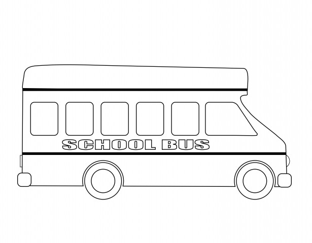 Bus clipart outline picture transparent download School Bus Outline Free Stock Photo - Public Domain Pictures picture transparent download