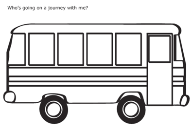 Bus clipart outline png transparent library Outline Of Bus - Free Clipart png transparent library