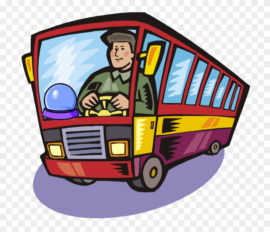 Bus driver clipart clip art free library Clairvoyant Didn\'t See That Coming » Bus Driver Crystal - Bus Driver ... clip art free library