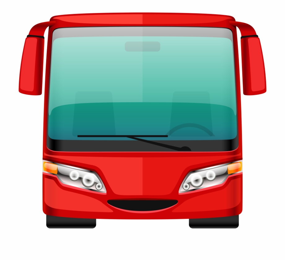 Bus front clipart png freeuse Red Bus Png Clipart - Bus Png Free PNG Images & Clipart Download ... png freeuse