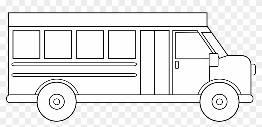 Bus line clipart jpg transparent stock Jpg Free School Line Art Free Clip - Black And White School Bus ... jpg transparent stock