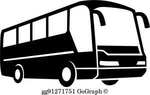 Bus trip clipart image transparent download Bus Tour Clip Art - Royalty Free - GoGraph image transparent download