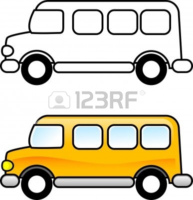 Bus with windows clipart clipart black and white library Free Clip Art School Bus | Clipart Panda - Free Clipart Images clipart black and white library