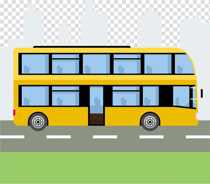 Busbus clipart graphic freeuse stock School bus Car Double-decker bus, bus transparent background PNG ... graphic freeuse stock