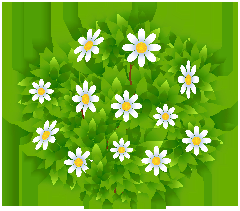 Bush png clipart clipart transparent download Flowers Bush Transparent PNG Clip Art Image | Gallery Yopriceville ... clipart transparent download