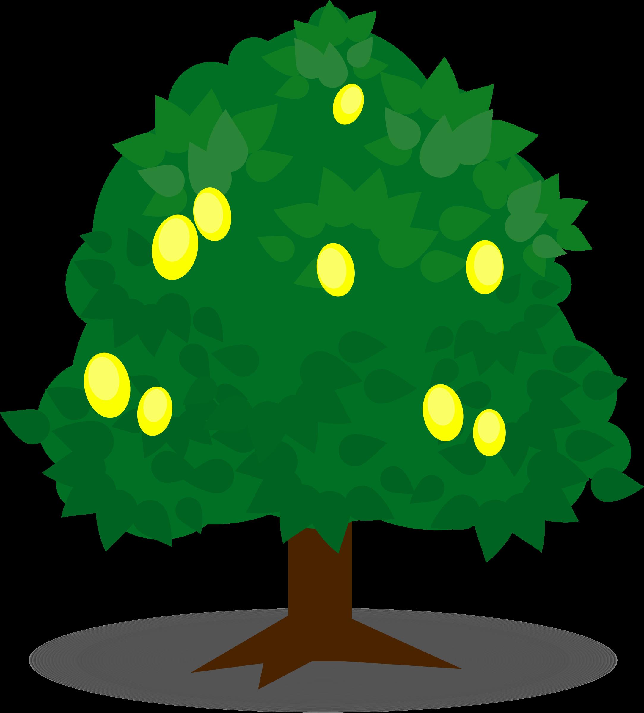 Lemon tree clipart clip transparent download Clipart - Lemon tree 3 clip transparent download