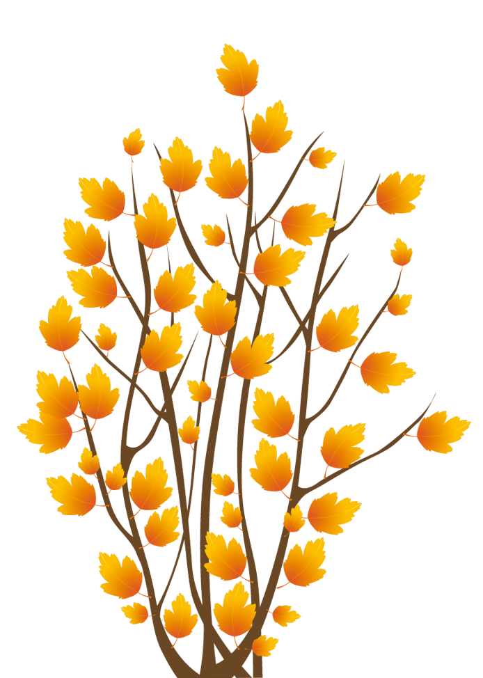Bush tree clipart clip freeuse Fall Bush PNG Clipart Image | Gallery Yopriceville - High-Quality ... clip freeuse