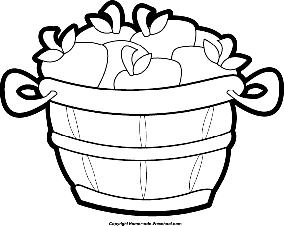 Peck of apples clipart graphic freeuse download Apple Bushel | Clipart Panda - Free Clipart Images graphic freeuse download
