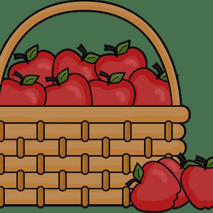 Bushel clipart vector freeuse library Empty Bushel Basket Clipart Clipart Suggest - Basket Of Apples ... vector freeuse library