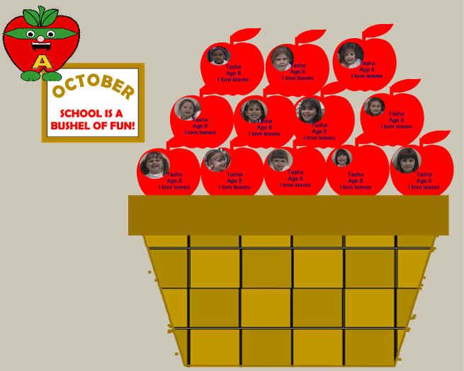 Bushel of fun clipart graphic royalty free download October \