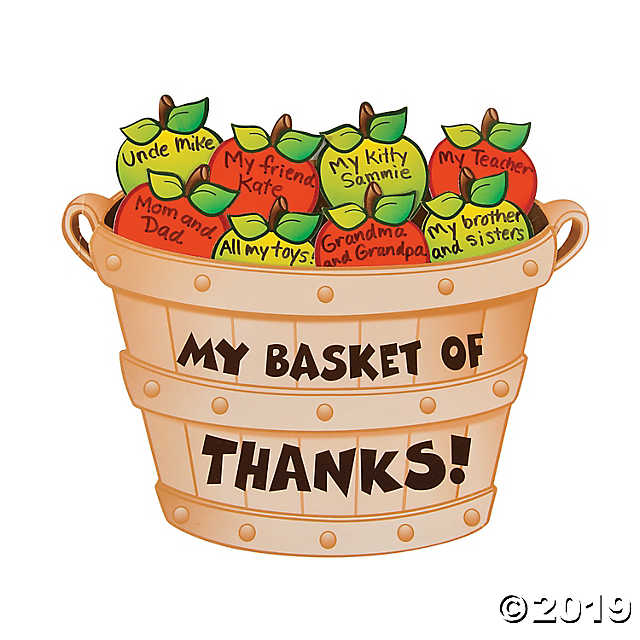 Peck of apples clipart royalty free Bushel of Thanks Apple Craft Kit royalty free