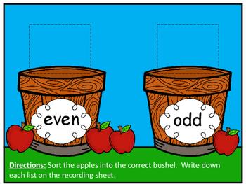Bushel of fun clipart image transparent download A Bushel of Fun~ Even and Odd Sort image transparent download