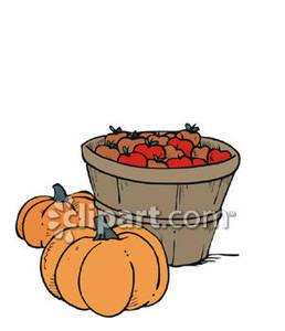 Bushel of pumpkins clipart royalty free stock Apples and pumpkin clipart, Free Download Clipart and Images ... royalty free stock