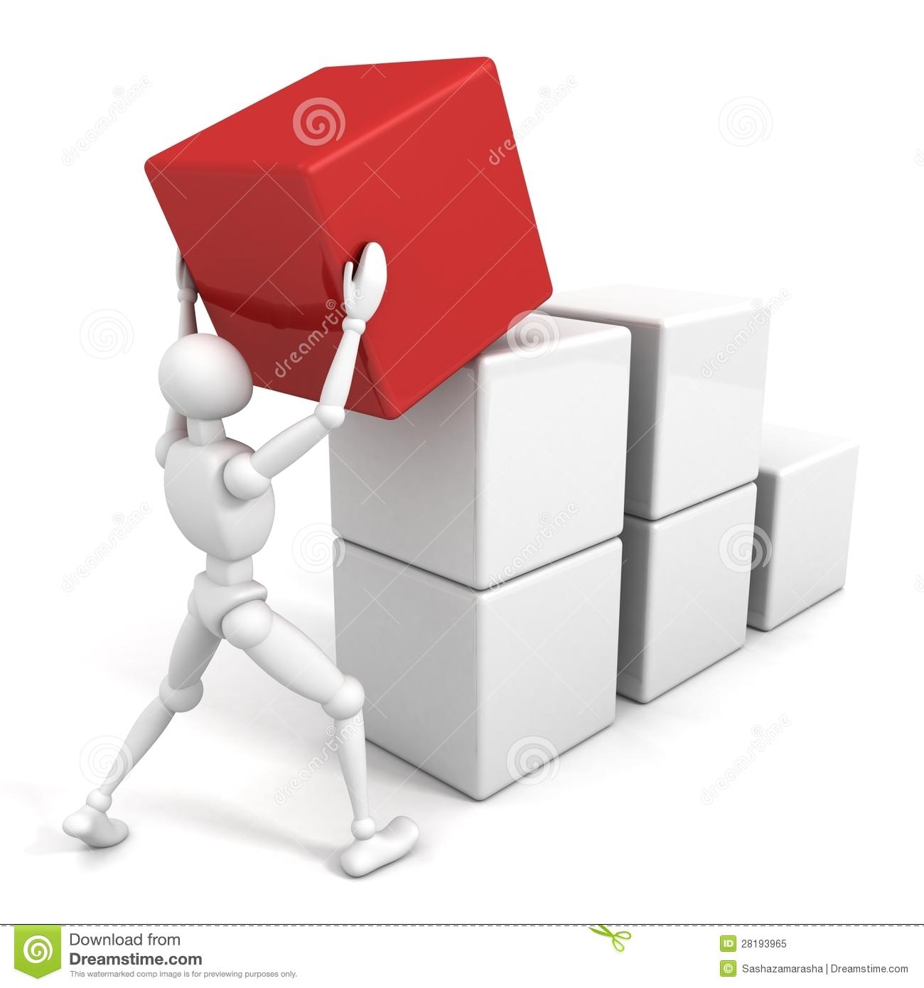 Business building blocks clipart transparent stock Business Building Blocks Stock Image - Image: 2340941 transparent stock
