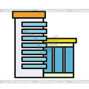 Business center clipart svg royalty free download Modern Business Center - vector EPS clipart svg royalty free download