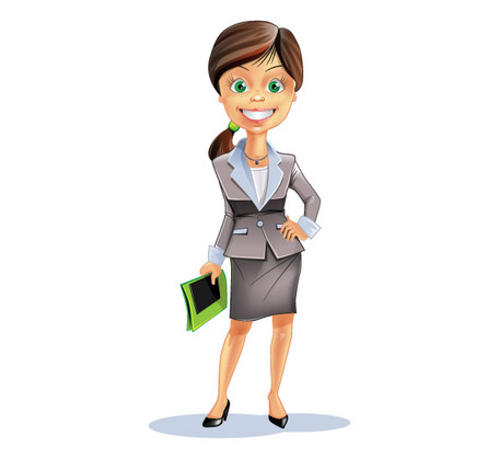 Business frau clipart picture free download Business frau clipart - ClipartFest picture free download
