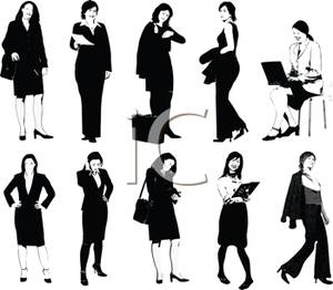 Business frau clipart image black and white stock Business frau clipart - ClipartFest image black and white stock
