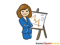 Business frau clipart clip art free library Finanzen Bilder, Cliparts, Cartoons, Grafiken, Illustrationen ... clip art free library