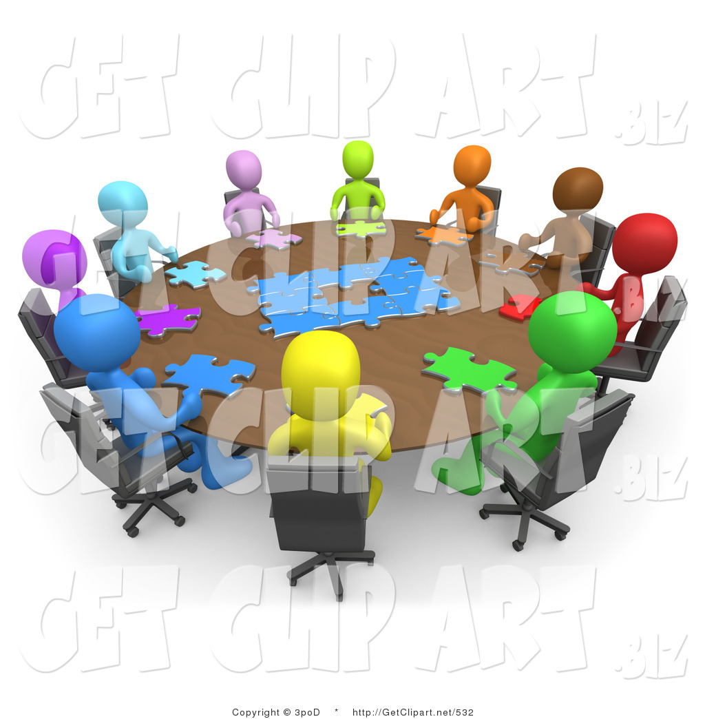 Business gathering clipart png free download 3d Clip Art of a Group of Different Colored and Diverse People ... png free download