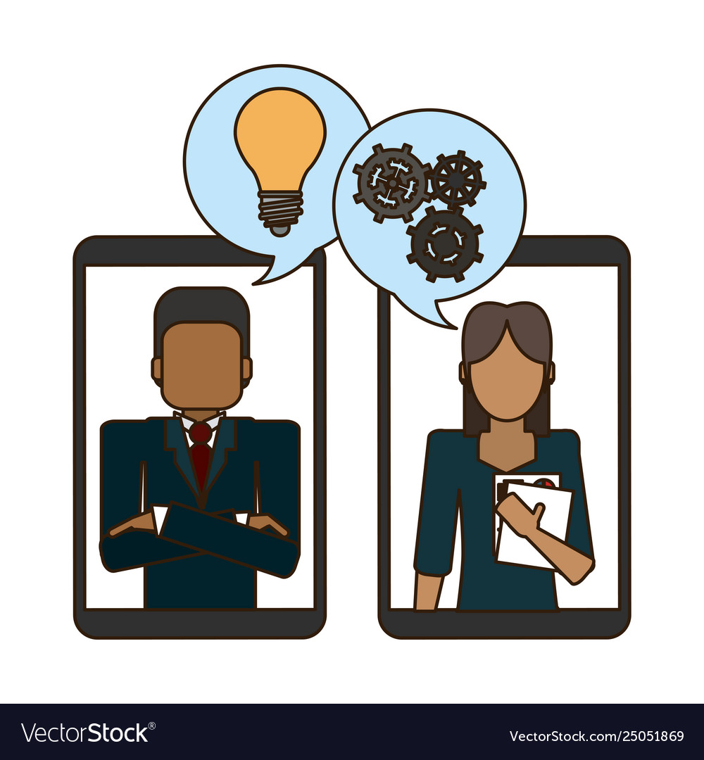 Business person with smartphone clipart png transparent stock Business people and smartphone png transparent stock