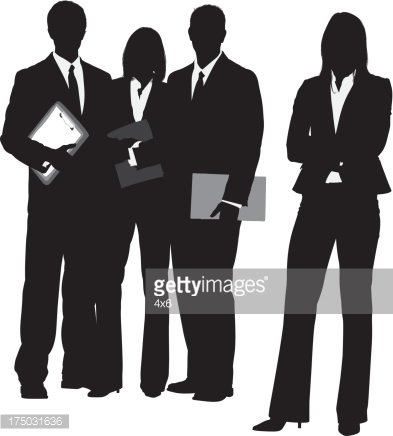 Business team clipart png library library Silhouette of A Business Team premium clipart - ClipartLogo.com png library library