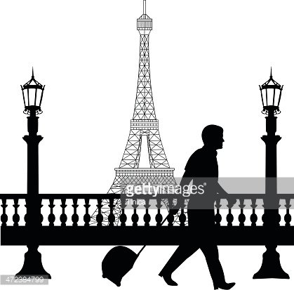 Business trip clipart clip art transparent stock Business Man Traveling ON Business Trip IN Paris premium clipart ... clip art transparent stock