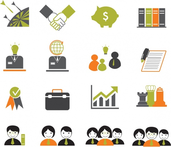 Business vector clipart png free library Free Business Icon #91397 - Free Icons Library png free library