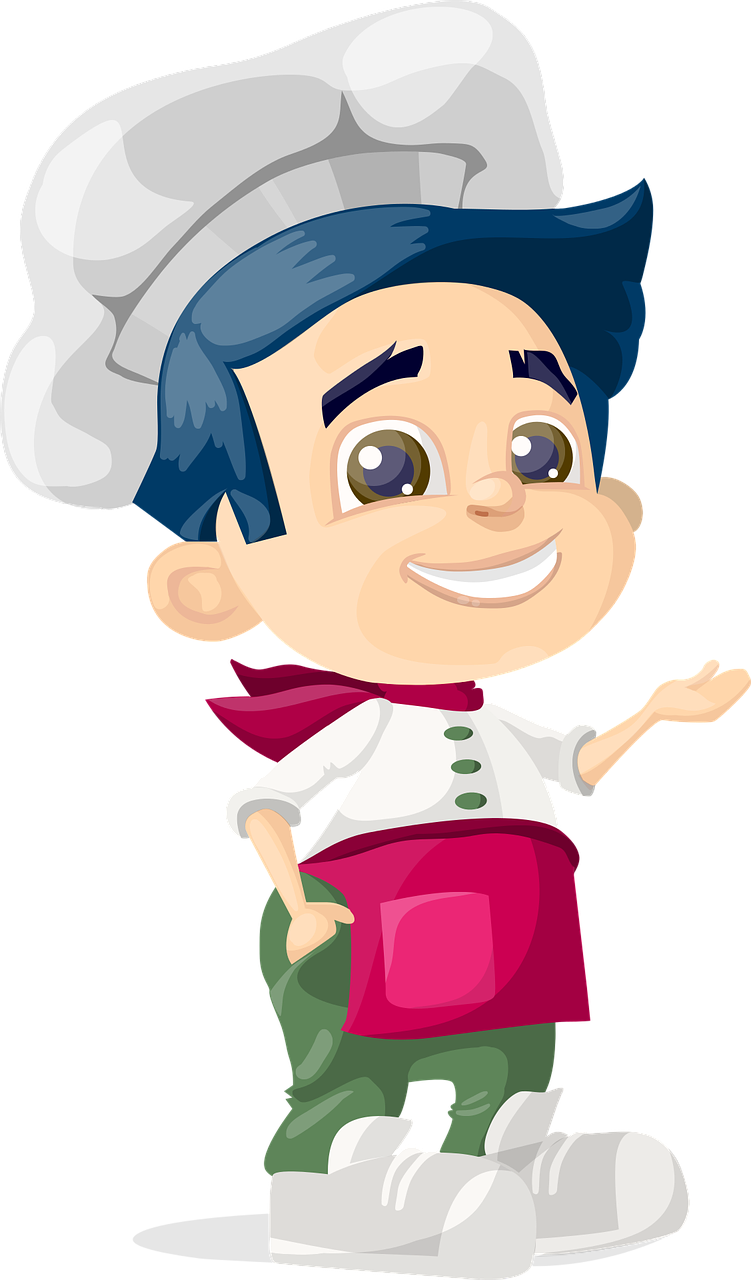 Cooking cat clipart jpg transparent stock Free Image on Pixabay - Cook, Boy, Kid, Hat, Cooking, Chef ... jpg transparent stock