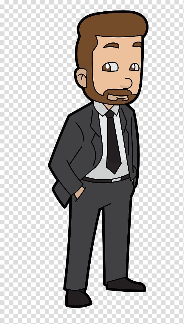 Businessman clipart png clip black and white download Cartoon , cartoon businessman transparent background PNG clipart ... clip black and white download