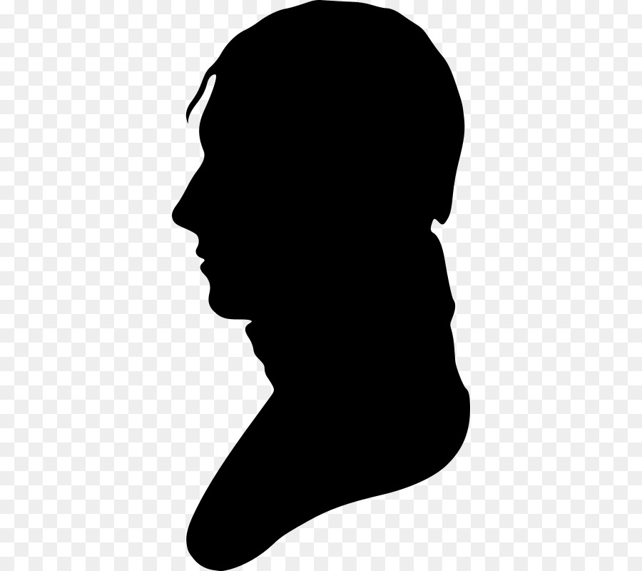 Bust clipart banner freeuse Bust Silhouette Male Clip art - Silhouette png download - 418*800 ... banner freeuse