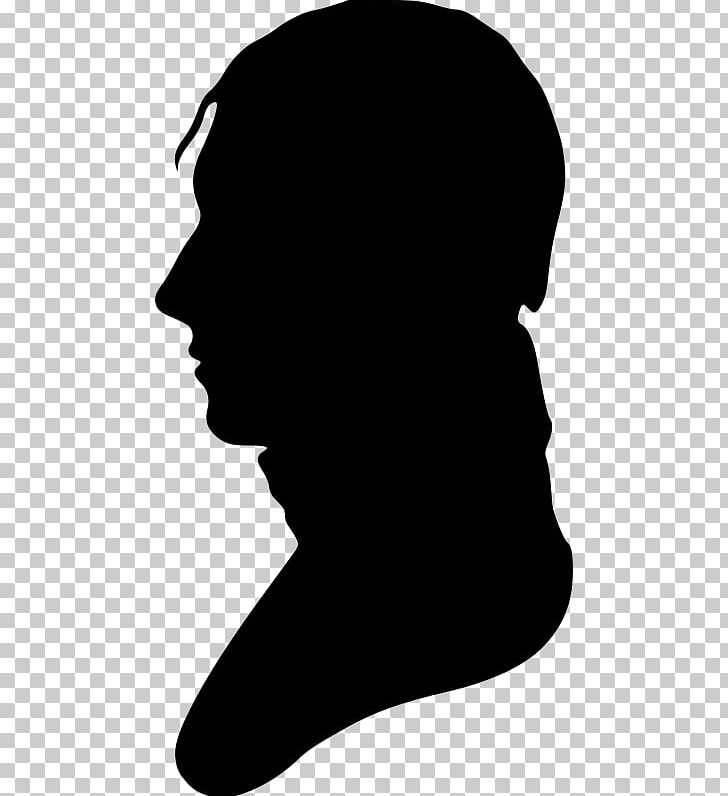 Silhouette portrait clipart png black and white stock Silhouette Portrait PNG, Clipart, Black, Black And White, Bust, Clip ... png black and white stock