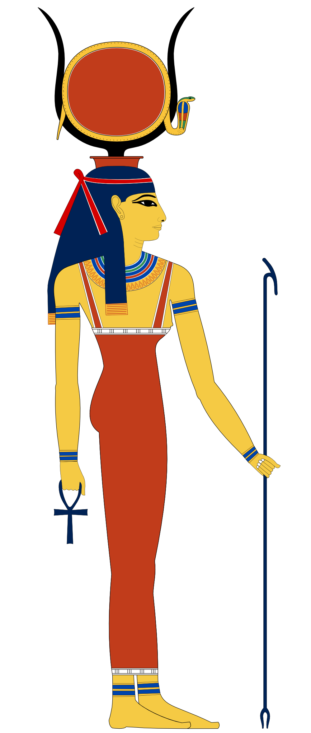 Bust wearing a crown images clipart download hathor | egypt hathor SVG 158(K) | Counted with the Stars | Pinterest download