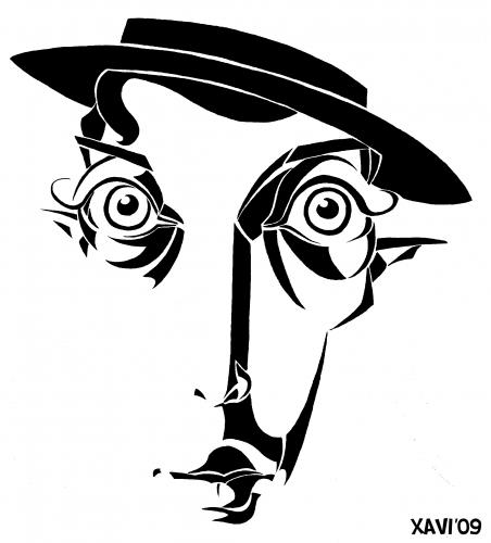 Buster keaton clipart png download Buster Keaton By Xavi Caricatura | Famous People Cartoon | TOONPOOL png download